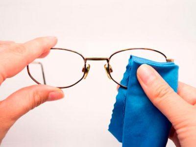 Consejos de como limpiar tus gafas